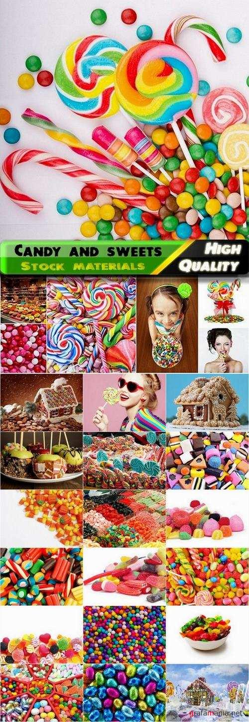 Candy and sweets Stock images - 25 HQ Jpg