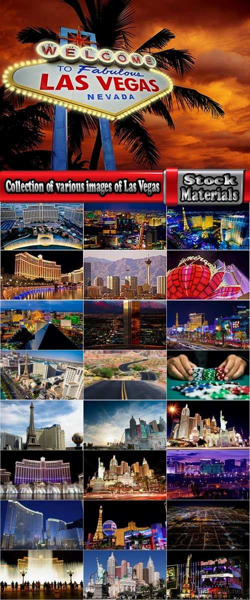 Collection of various images of Las Vegas 25 UHQ Jpeg