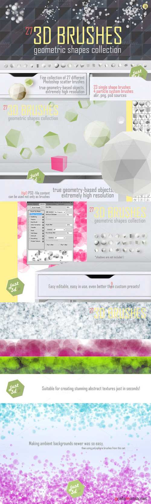 CM - 3D brushes for Photoshop 129038