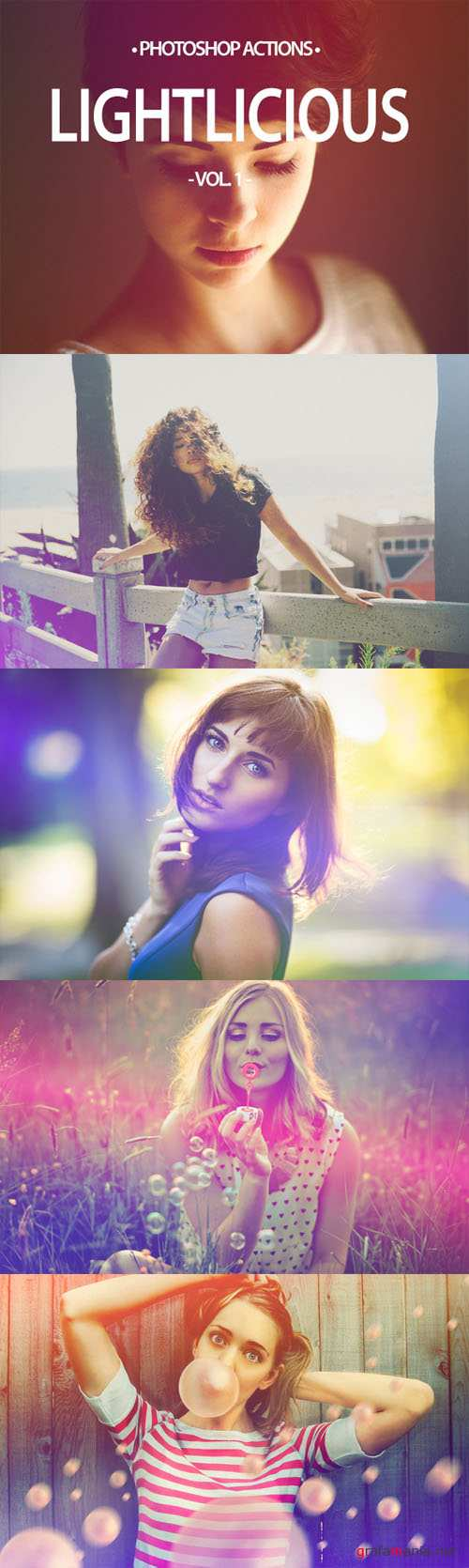 20 Lightlicious - Photoshop Actions