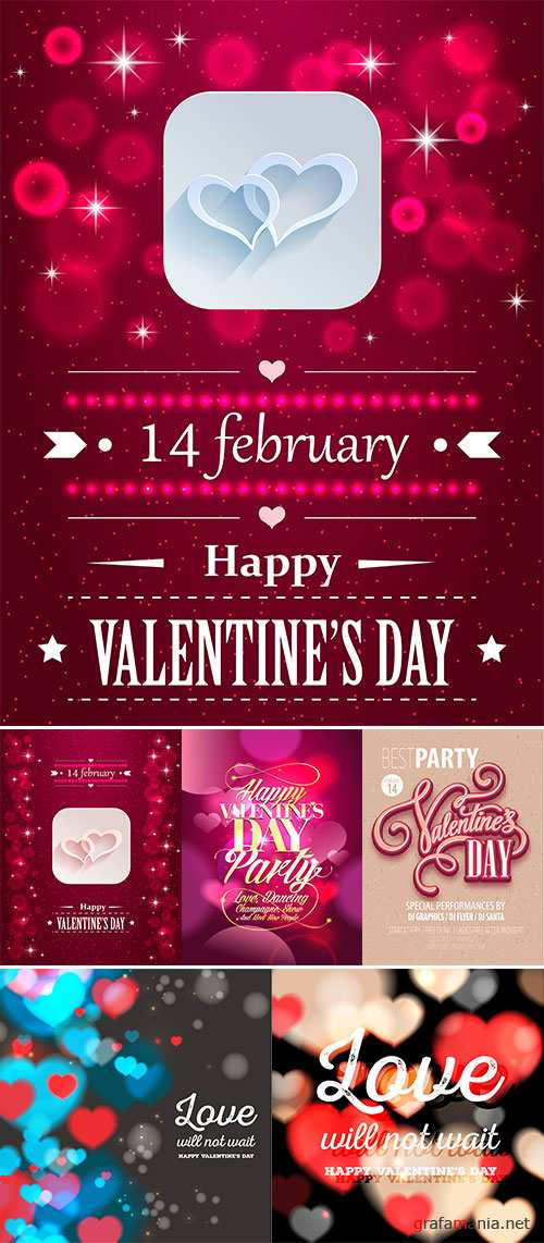 Stock Poster Valentine's Day Party