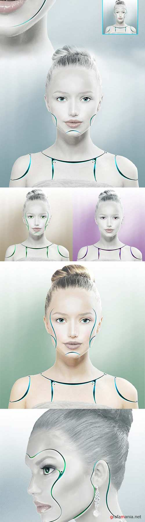 Graphicriver - Synthetic Human Action 9771548