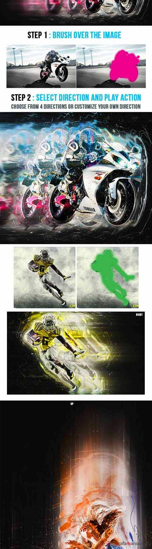 Motionflow Photoshop Action - Graphicriver 9300501