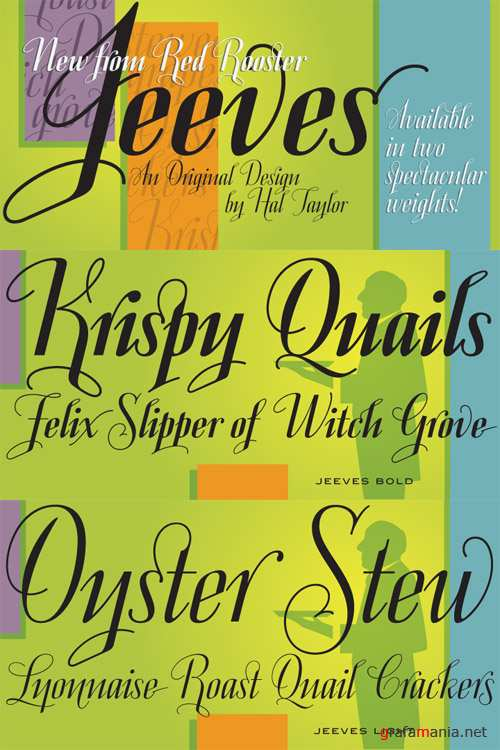 Jeeves Font