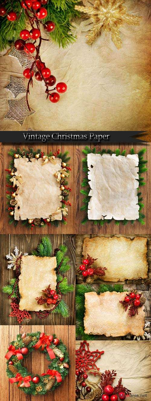 Vintage Christmas Paper