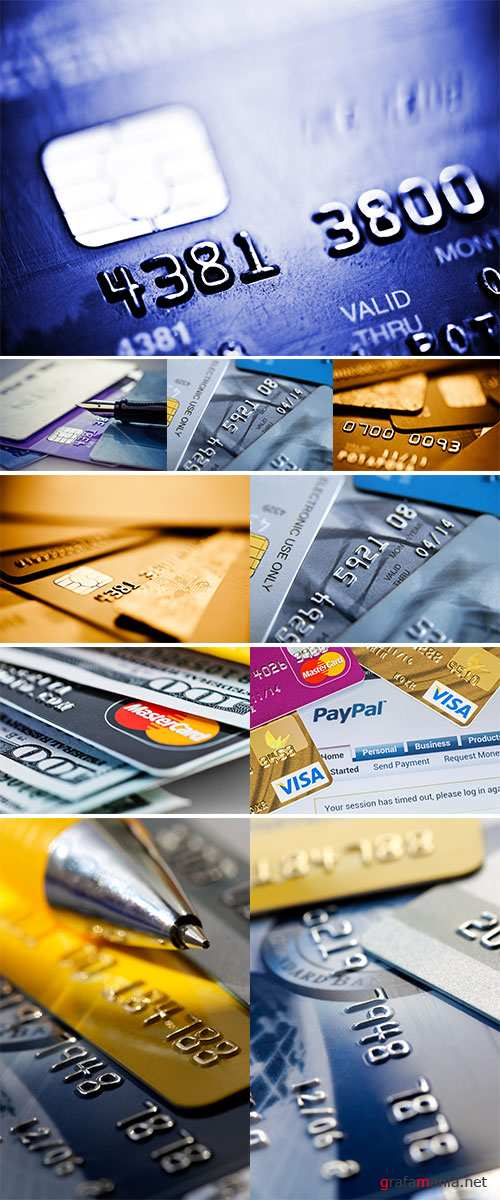 Stock Photo Credit cards