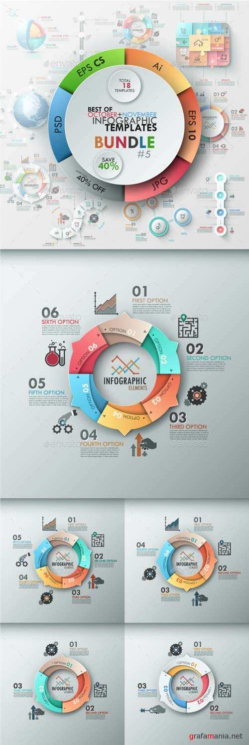 GraphicRiver The Fifth Bundle Of Bestsellers