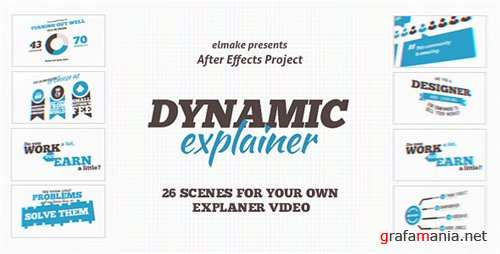 Dynamic Explainer - After Effects Project (Videohive)
