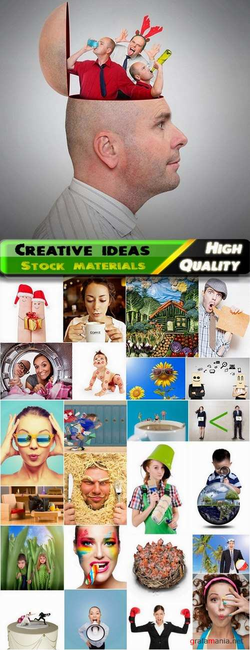 Creative ideas for photo Stock images #8 - 25 HQ Jpg