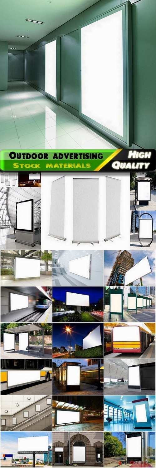 Outdoor advertising and advertising boards 2 - 25 HQ Jpg