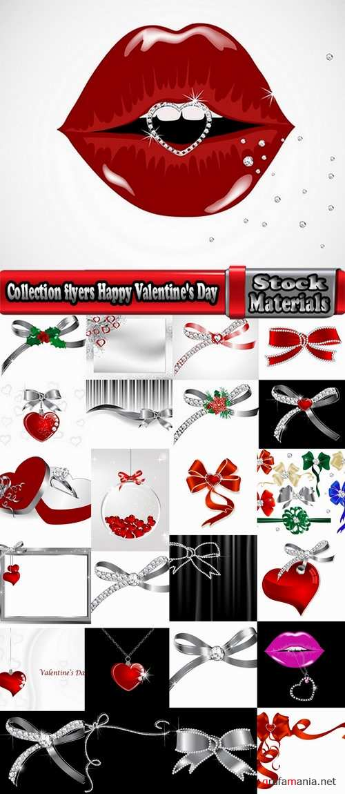Collection flyers Happy Valentine's Day #7-25 Eps