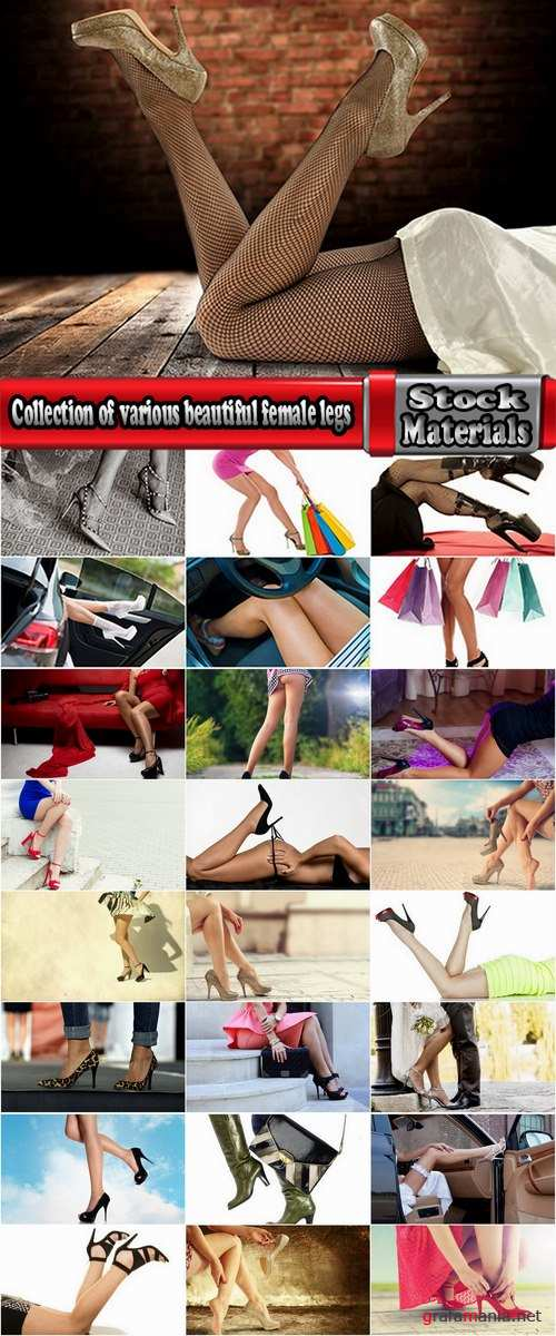 Collection of various beautiful female legs 25 HQ Jpeg