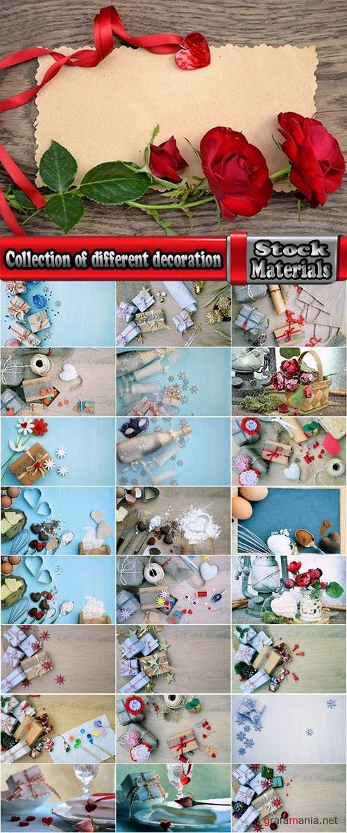 Collection of different decoration 25 HQ Jpeg
