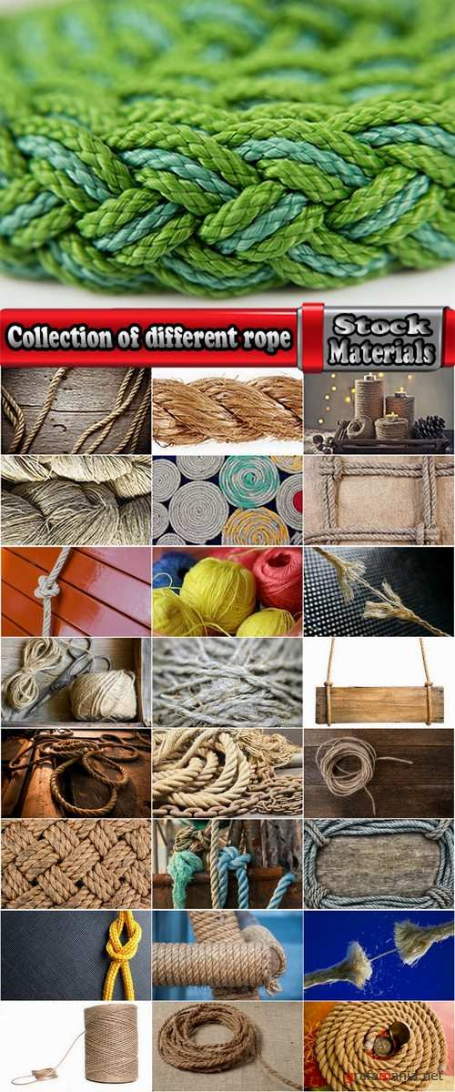 Collection of different rope 25 HQ Jpeg