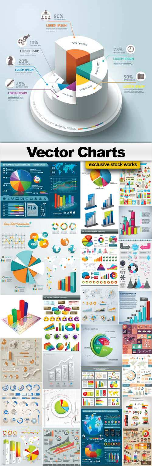 Vector Charts Collection