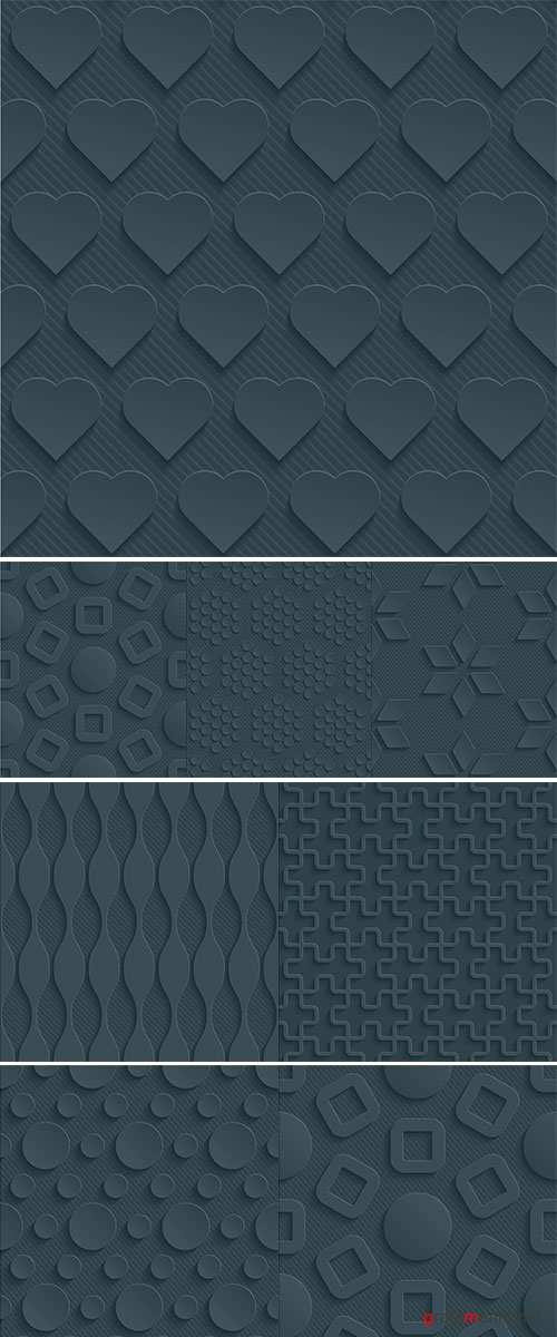 Stock Dark gray perforated paper with cut out effec