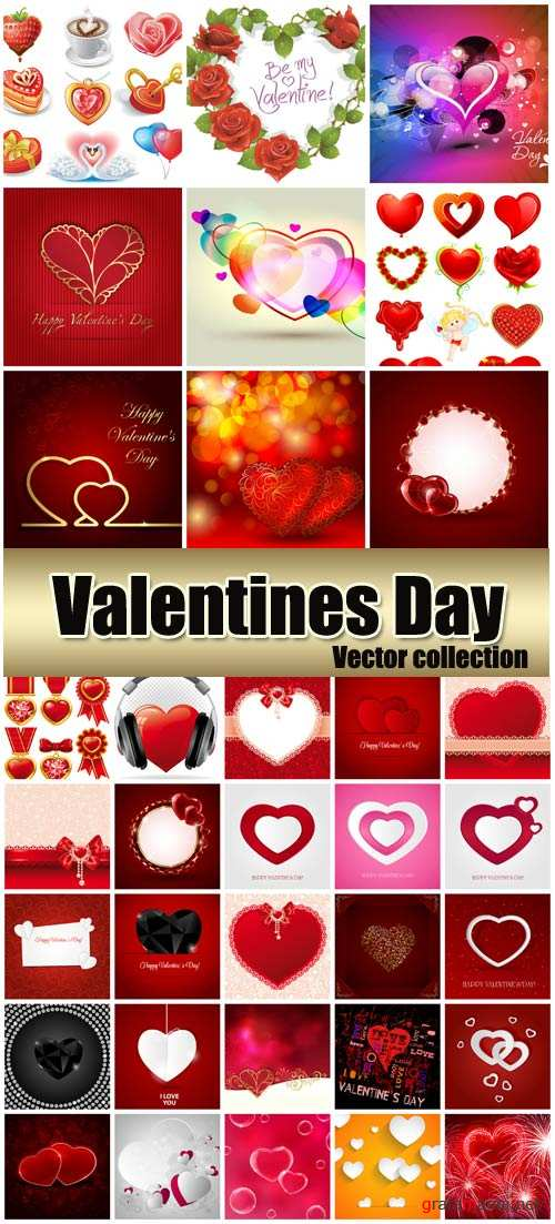 Valentine's Day, romantic backgrounds, hearts # 35