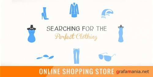 Online Shopping Store - After Effects Project (Videohive)