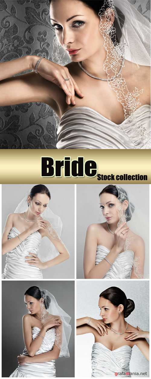 Bride, beautiful woman - Stock Photo