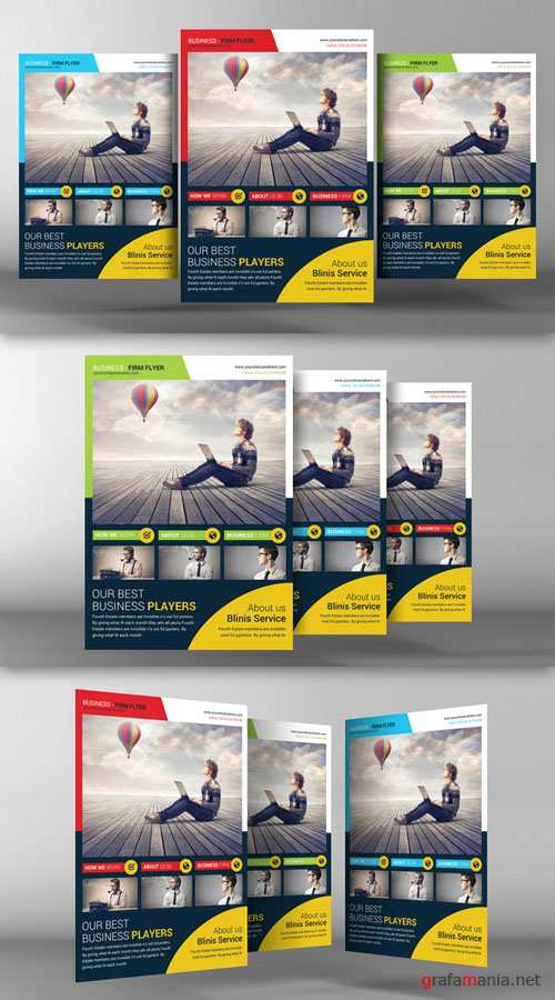 Corporate Business Flyer Template - CM 95633