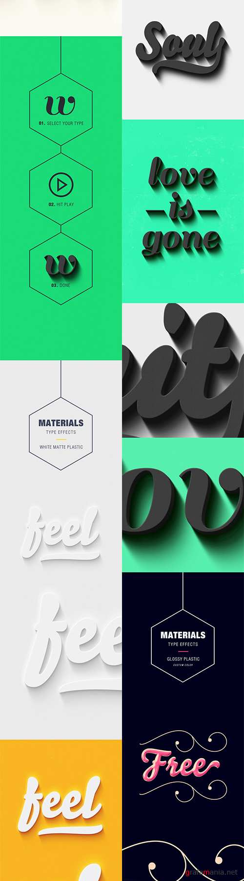 GraphicRiver - Materials Type Effects 9864364