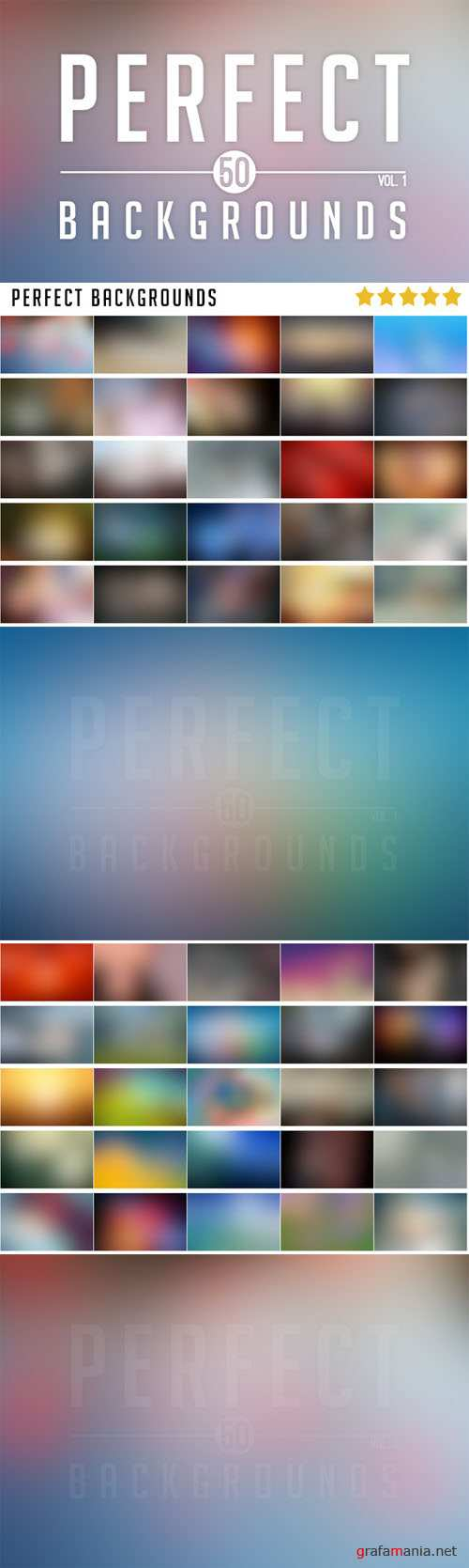 50 Perfect Blurred Backgrounds Vol.1 - CM 19991