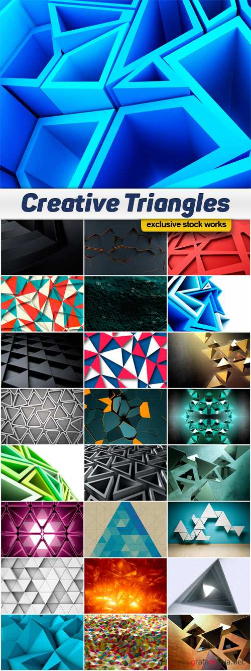 Abstract Triangles Backgrounds Images