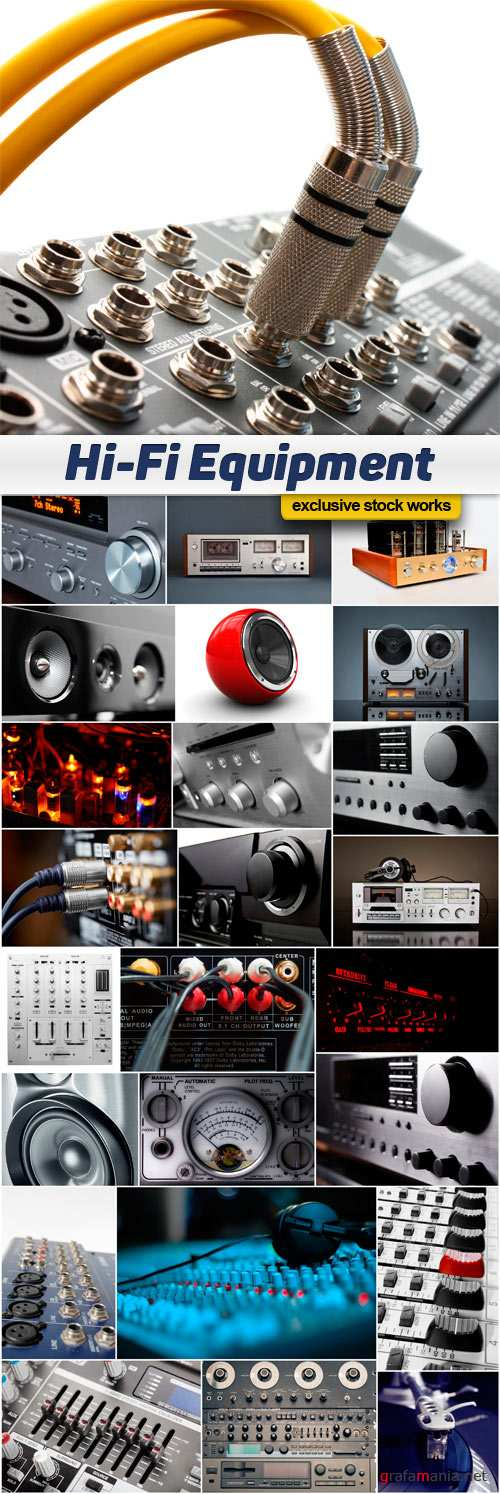 Hi-Fi Audio Equipment Images Collection