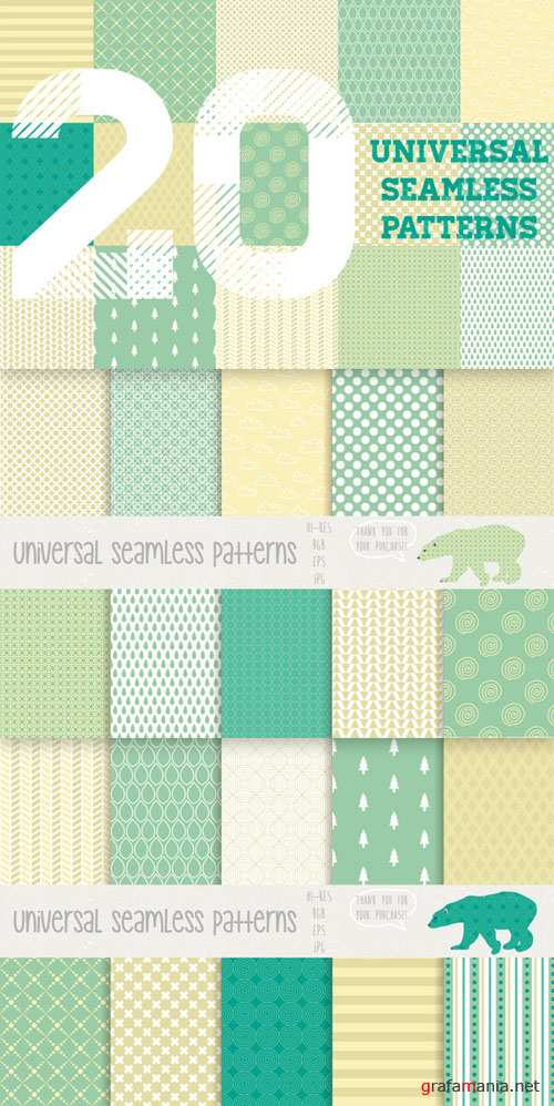 Universal seamless patterns - CM 72966
