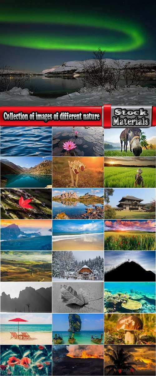 Collection of images of different nature #2-25 HQ Jpeg