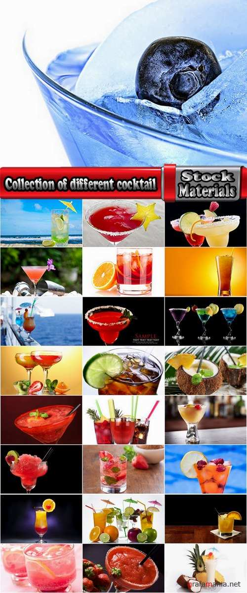 Collection of different cocktail 25 HQ Jpeg