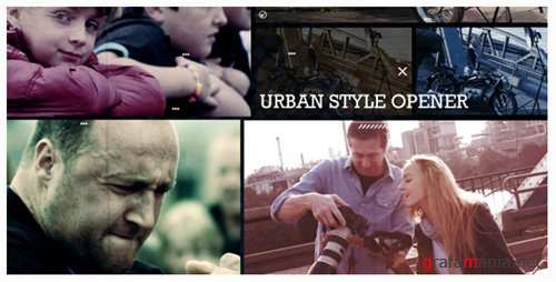 Urban Style Opener - After Effects Project (Videohive)