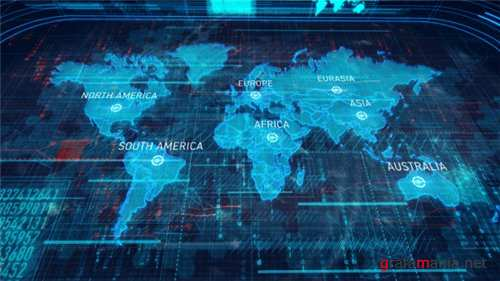 World Map - After Effects Project (Videohive)