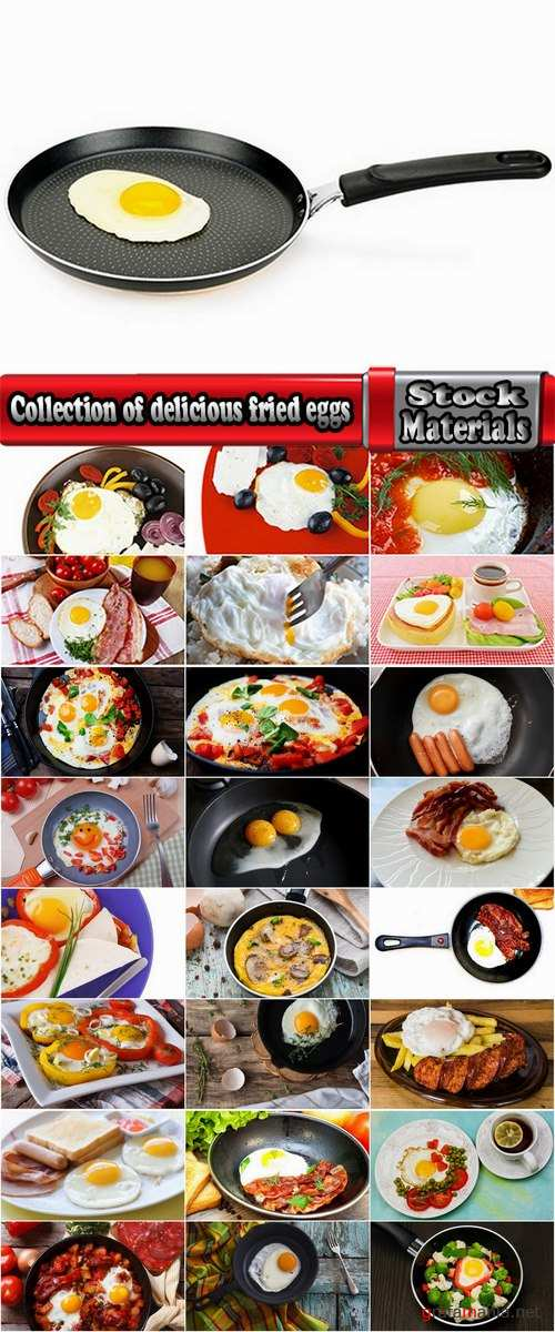 Collection of delicious fried eggs 25 HQ Jpeg