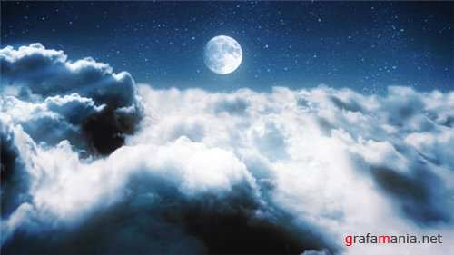 Clouds in a Night Sky - After Effects Project (Videohive)