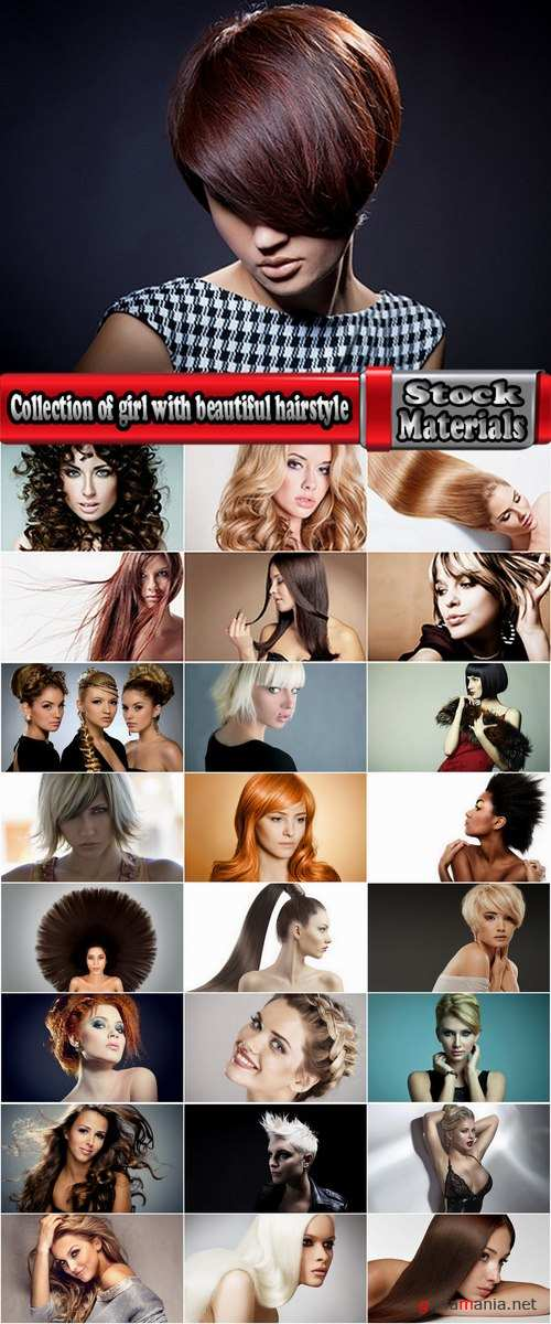 Collection of girl with beautiful hairstyle 25 HQ Jpeg