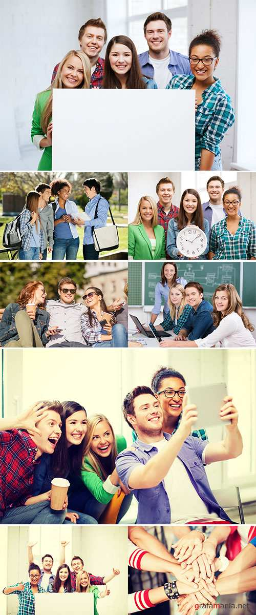 Stock Photo Education and competition concept