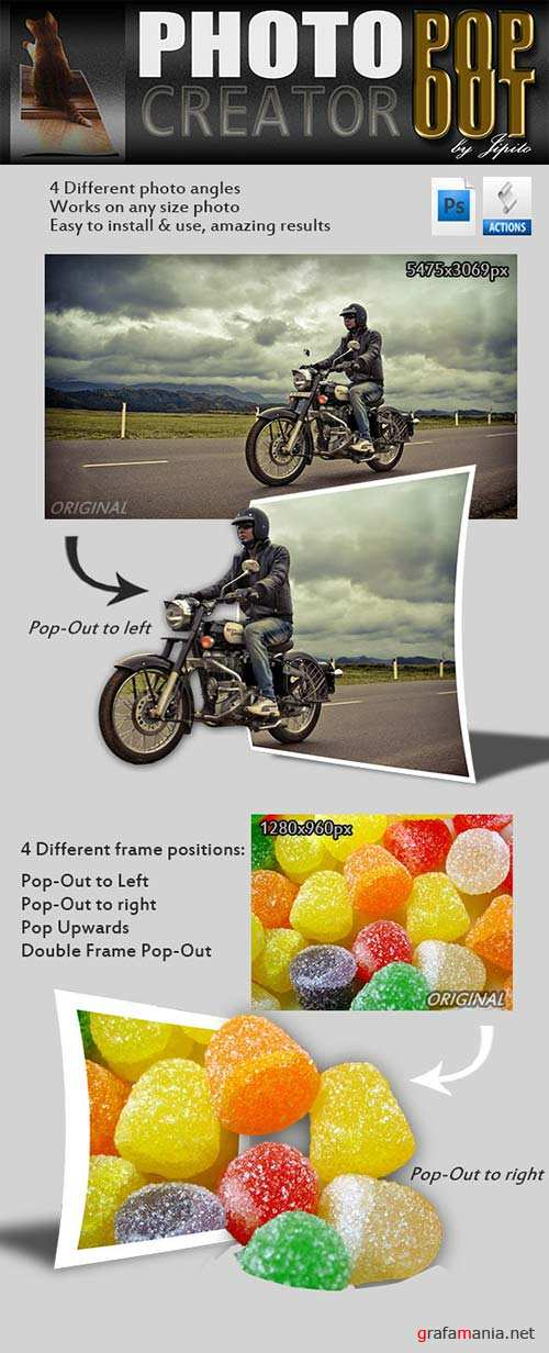 GraphicRiver Photo Pop-Out Creator