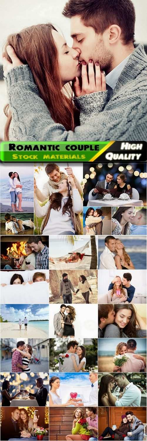 Happy young romantic couple Stock images - 25 HQ Jpg