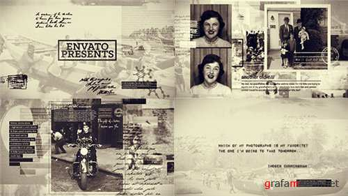 History in Photographs - After Effects Project (Videohive)