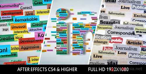 Text Logo Formation - Project for After Effects (Videohive)
