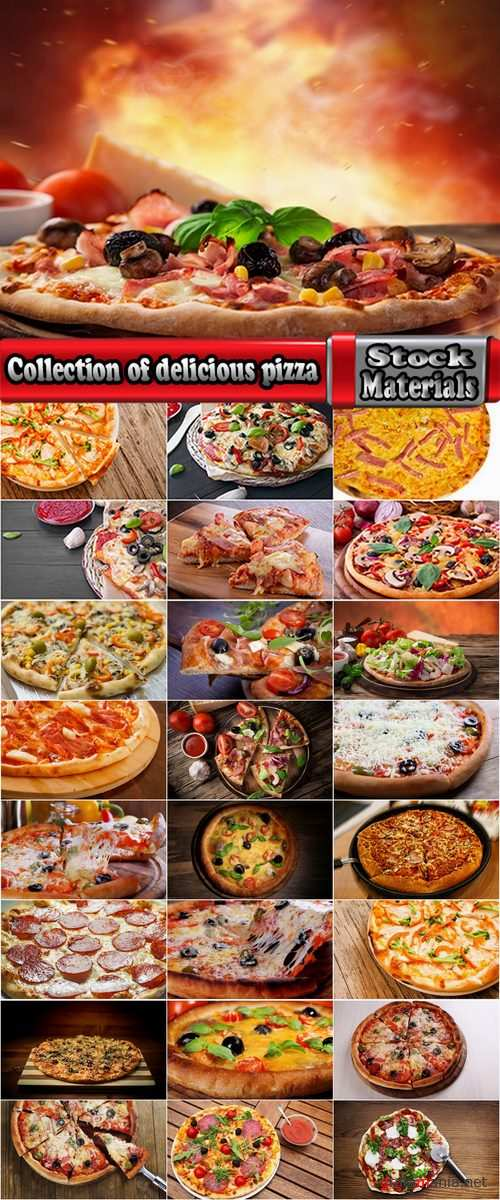 Collection of delicious pizza 25 HQ Jpeg