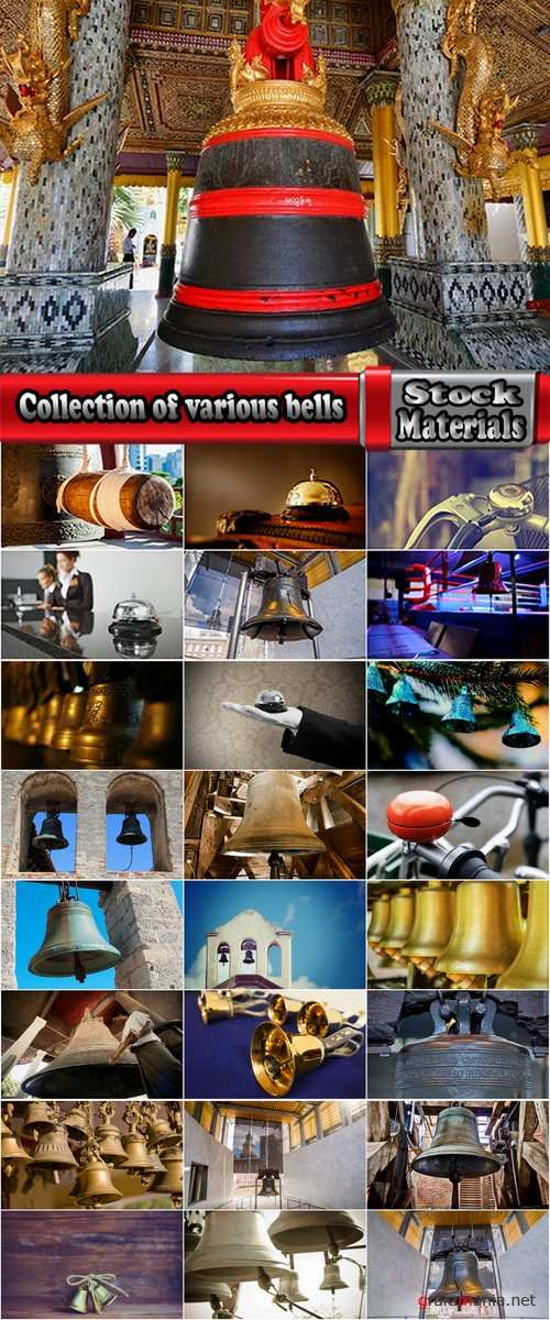 Collection of various bells 25 HQ Jpeg