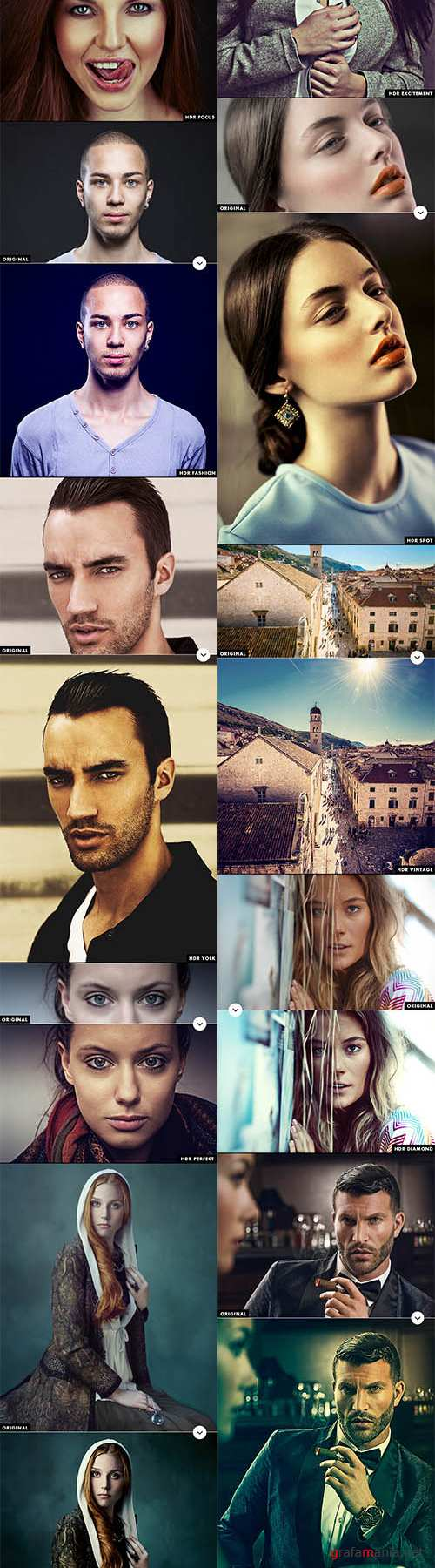 GraphicRiver - 40+ HDR Effects - Photoshop Actions 10052544