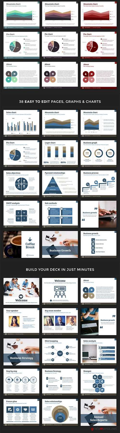 CM - Corporate PowerPoint Template V.1 196723