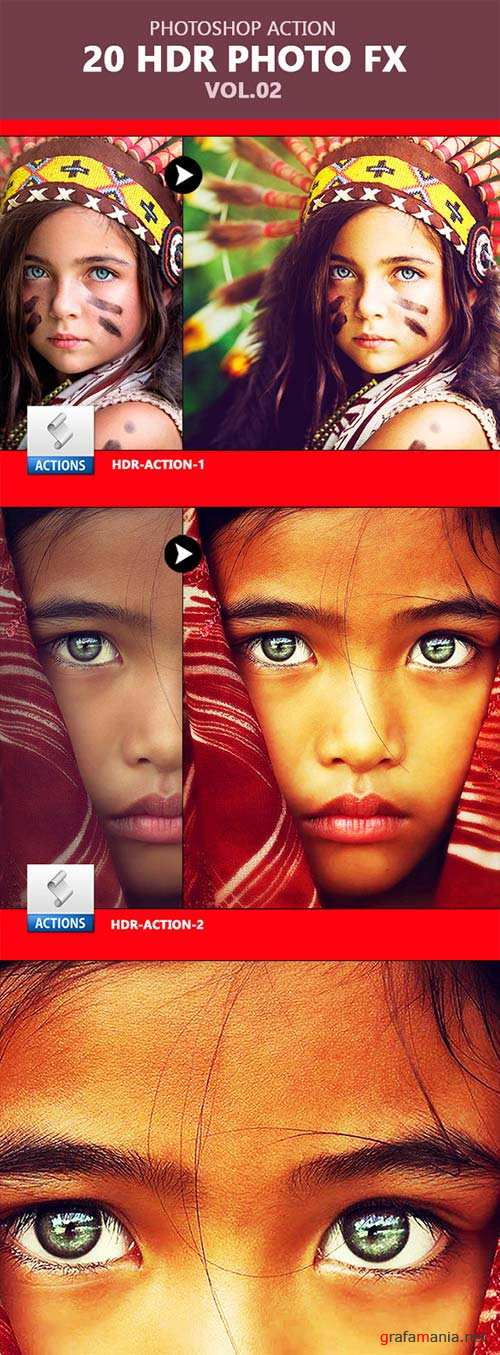 GraphicRiver 20 HDR Photoshop Actions