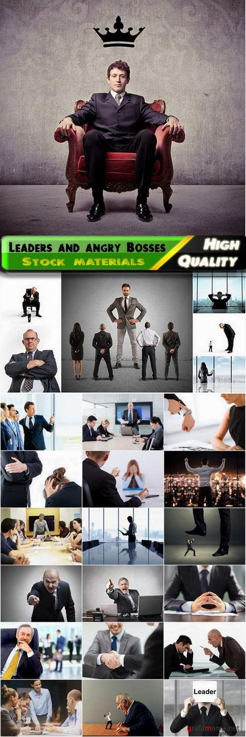 Leaders and angry Bosses creative business - 25 HQ Jpg