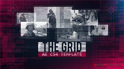 The Grid - After Effects Project (Videohive)