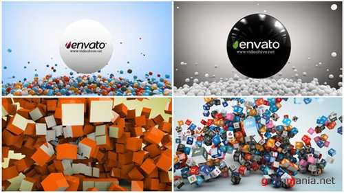 2 In 1 Social Network Logo Reveal - After Effects Project (Videohive)