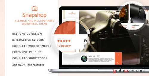 Themeforest - SnapShop v1.1.1 - Woocommerce Theme For Gadget Shop
